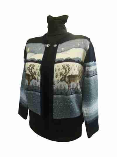 Mulesing-free merino wool jacket