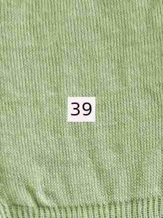 Luomupellava vaalean vihreä