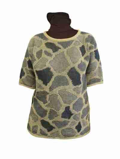Giraffe pellavatunika beige